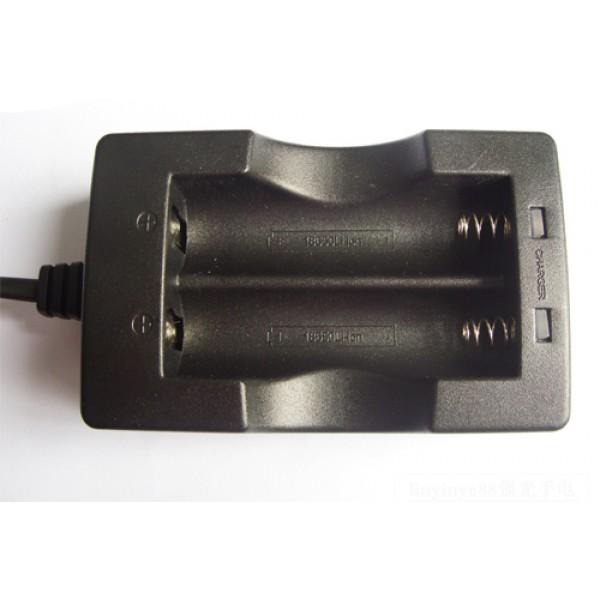 Dual oplader voor 2 stuks 18650 Li-ion batterijen tegelijk